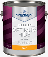 Aurora Decorating Centre Optimum Hide Ceiling White is a quick-drying flat finish designed for interior ceilings. It is ideal for areas that must remain in service while being painted, such as hotels, offices, hospitals, and nursing homes. It dries a bright white and minimizes surface imperfections.boom